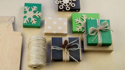 Kreative Geschenkverpackungen selber machen