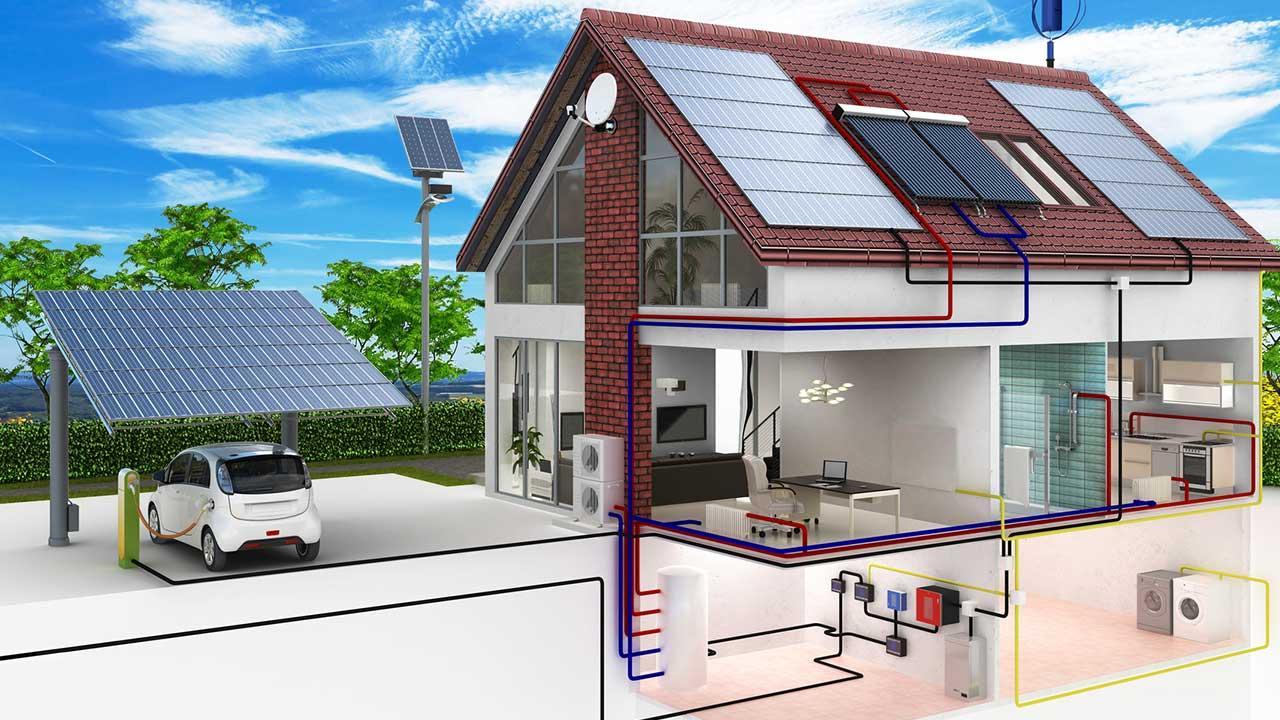 Lohnt sich eine Photovoltaik-Anlage - schematische Darstellung