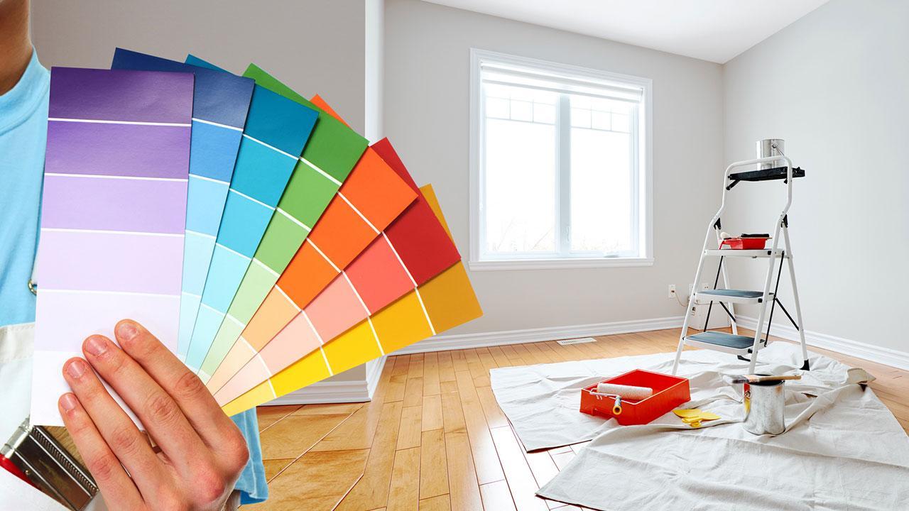 Ein frischer Anstrich bringt Schwung in Ihre 4 Wände - Farbtabelle