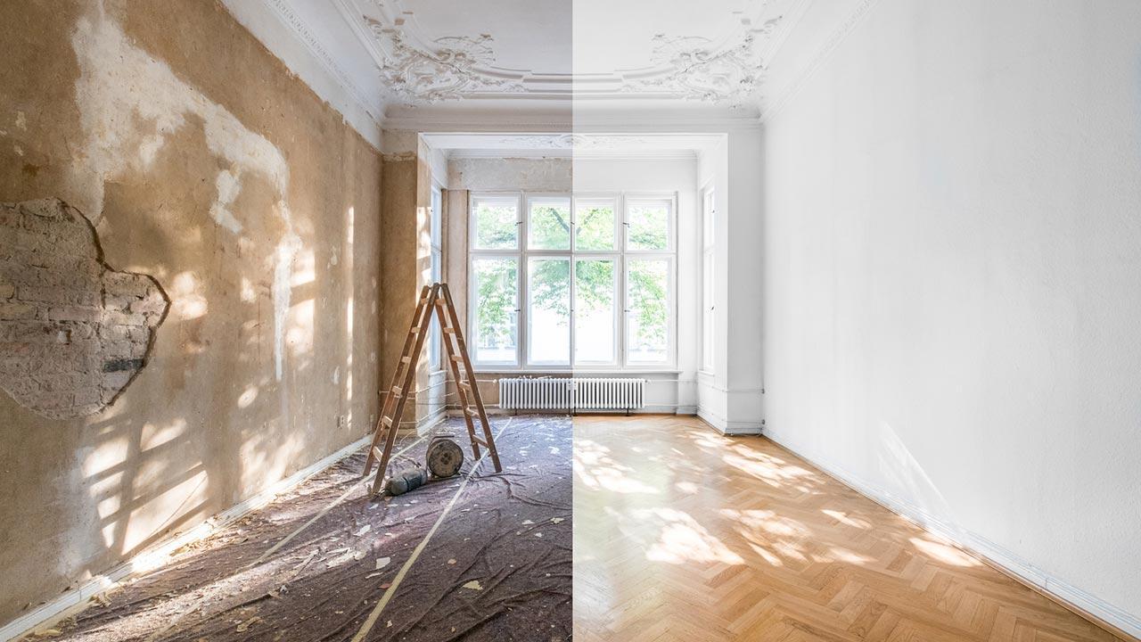 Ein frischer Anstrich bringt Schwung in Ihre 4 Wände - Renovierung