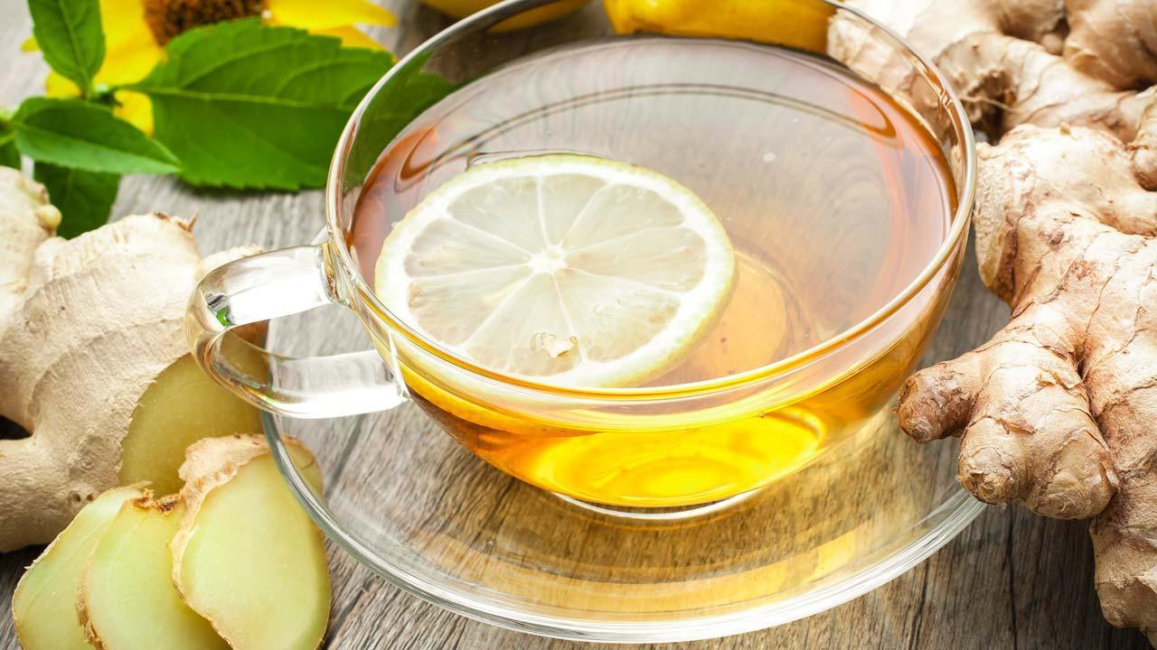 Die Superknolle Ingwer - Vielseitig einsetzbar - Tee mit Zitrone