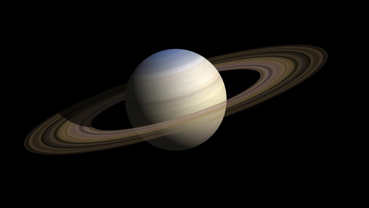 Jupiter und Saturn - Das Planetenpaar am Sternenhimmel - Saturn