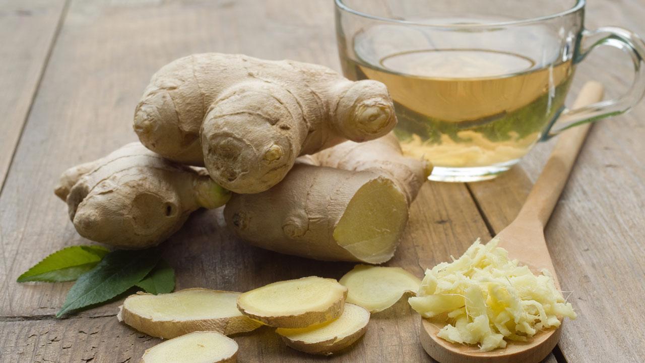 Die besten Teesorten für den Herbst - Ingwertee