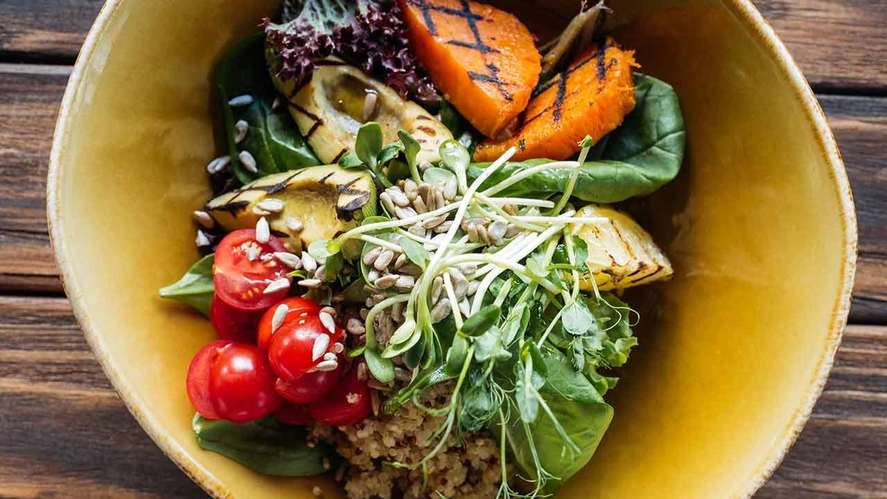 Bowl selber machen - Vegetarische Variante