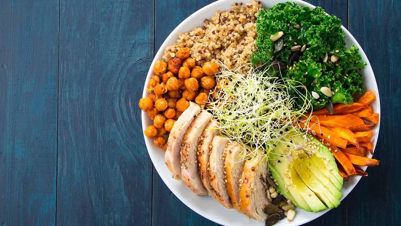 Bowl selber machen  - mit Fleisch
