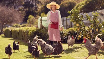 Nutztiere im eigenen Garten
