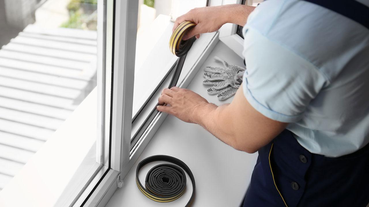 Sehr Fenster und Türen gegen Zugluft abdichten bei Freizeit XN16
