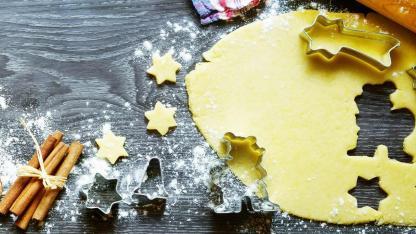 Leckere Weihnachtsbäckerei