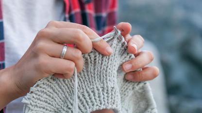Warme Socken für den kalten Winter stricken