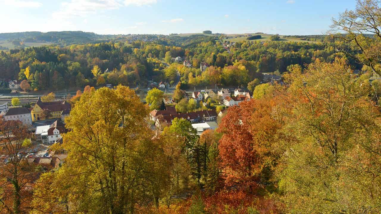 Wandern im Frankenwald: Der Steigla Petersgrat - Kronach
