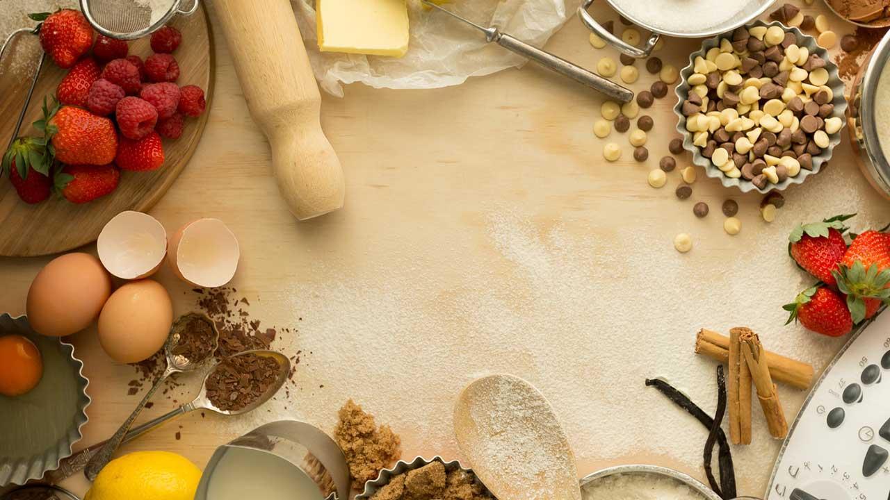 Ein Allrounder in der Küche - alle möglichen Zutaten