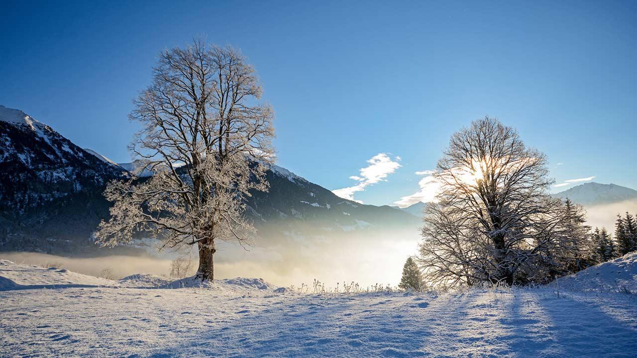 Winterwanderungen durch das Salzburger Land - Winterlandschaft