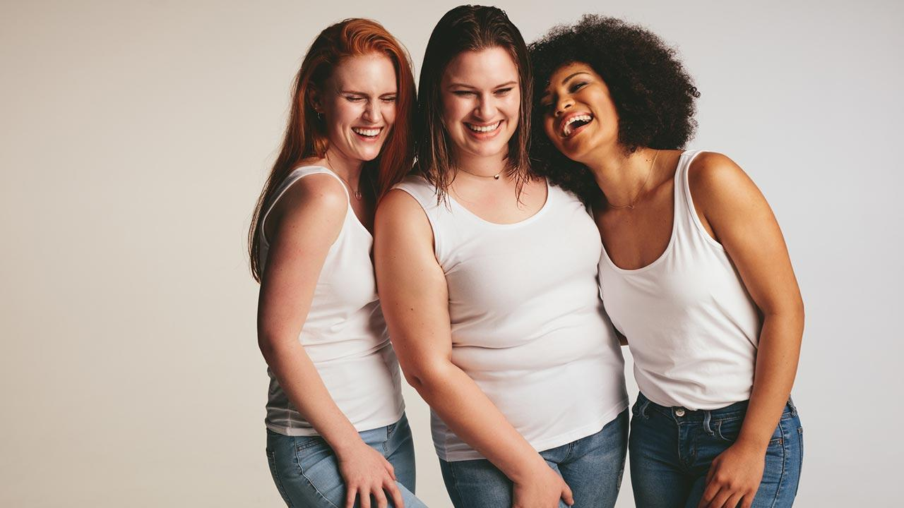 Weight Watchers - Motivation durch Abnehmen in der Gruppe - junge Frauen