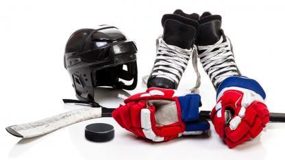 Eishockey, ein Sport mit viel Ausrüstung