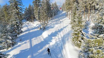 Die besten Langlaufloipen in Bayern