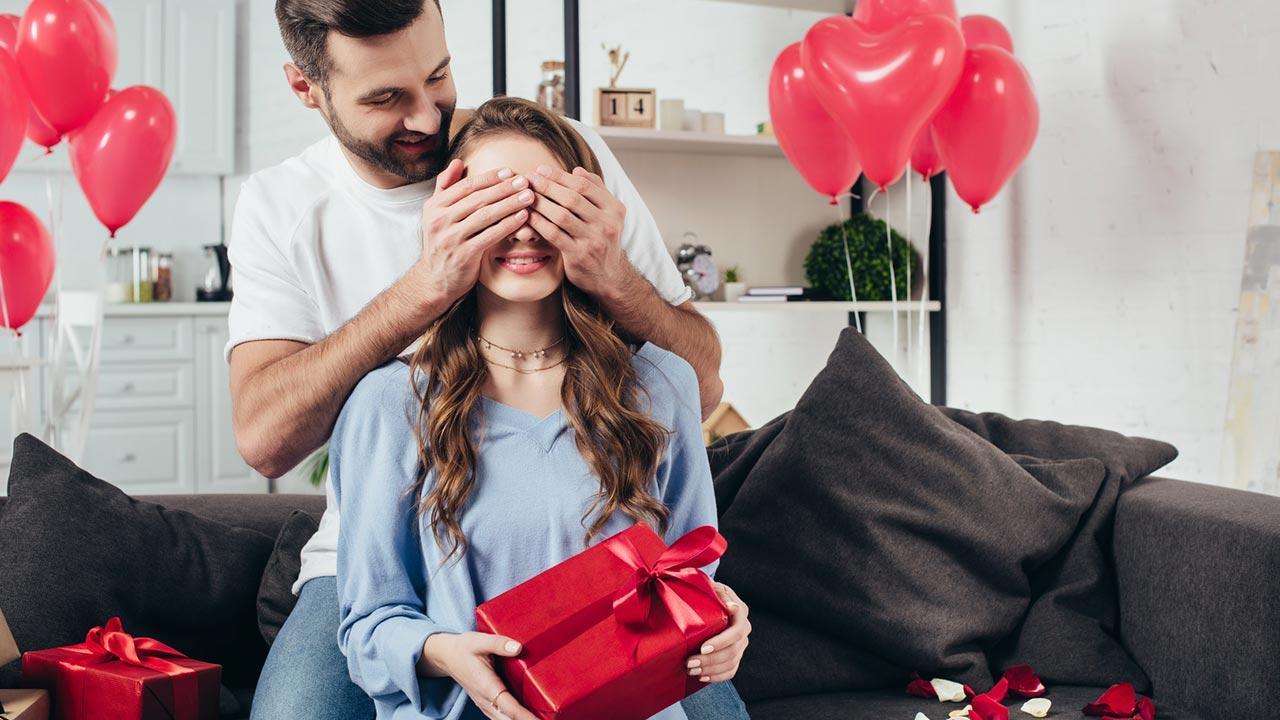Ein romantisches Valentinsgeschenk - Überraschung