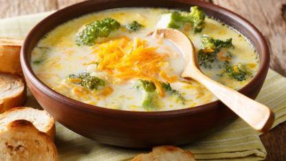 Winterrezepte ohne Fleisch - Brokkolieintopf