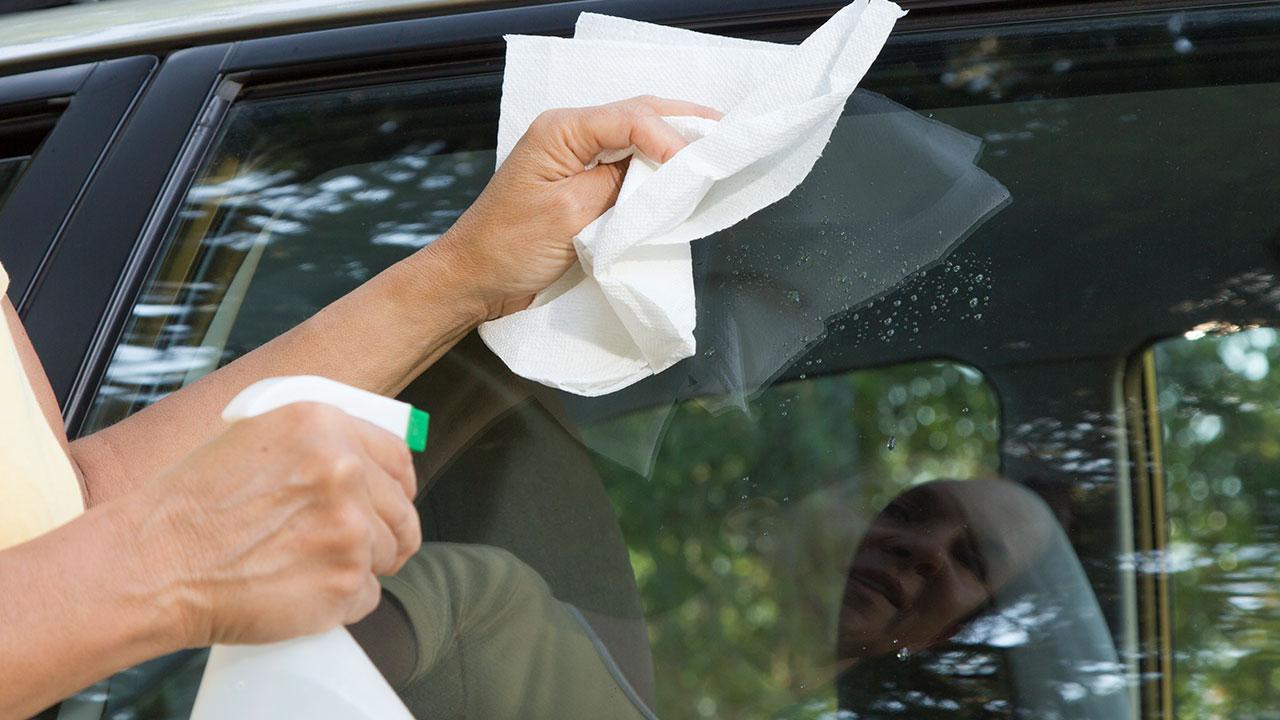 Türgummis im Auto pflegen -Reinigung