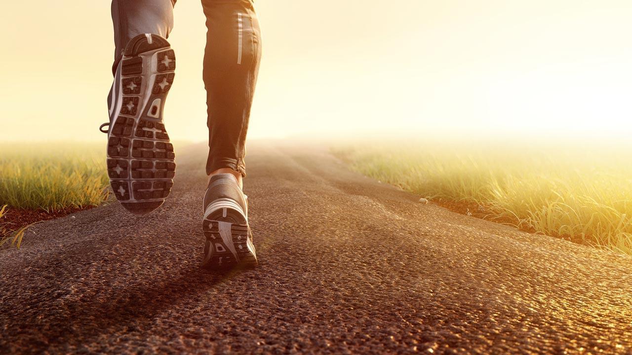 Tipps für Laufeinsteiger - Laufen im Nebel