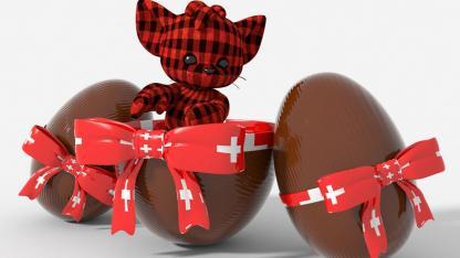 Osterbräuche in der Schweiz - Schokolade