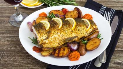 Karpfen zubereiten für Karfreitag - gebratener Fisch
