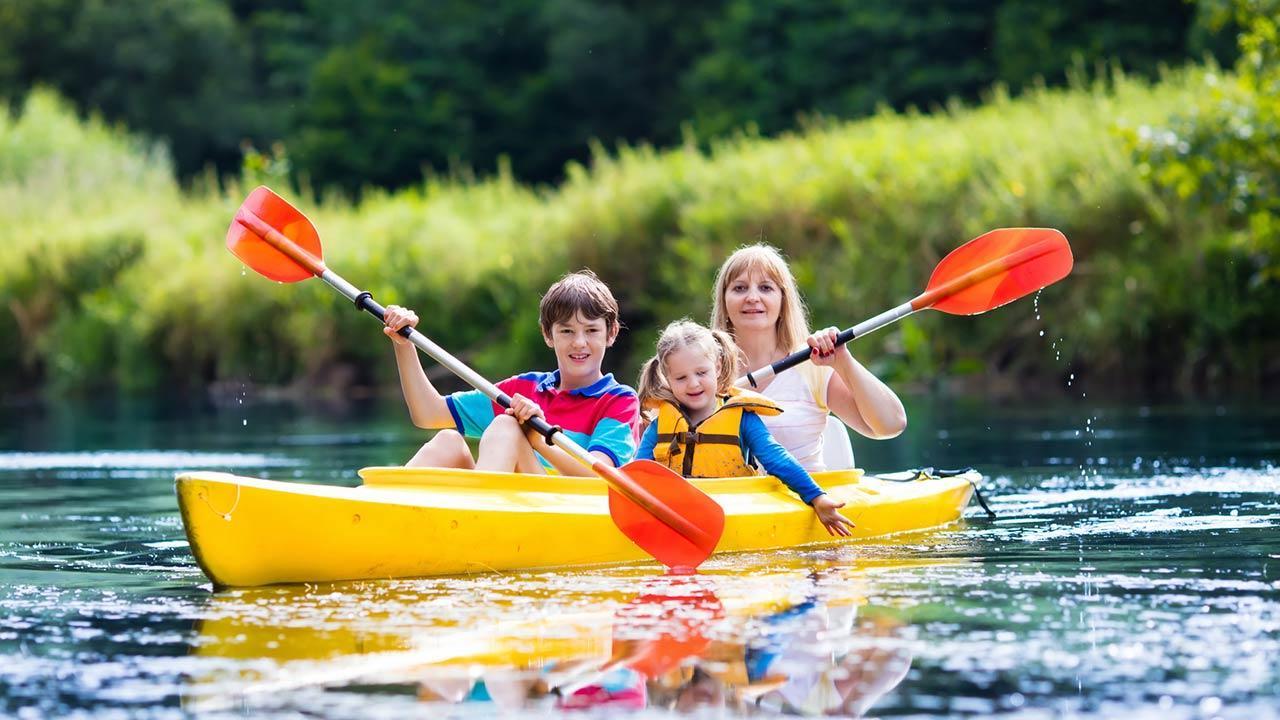 Mit dem Kanu deutsche Flüsse entdecken - mit Familie