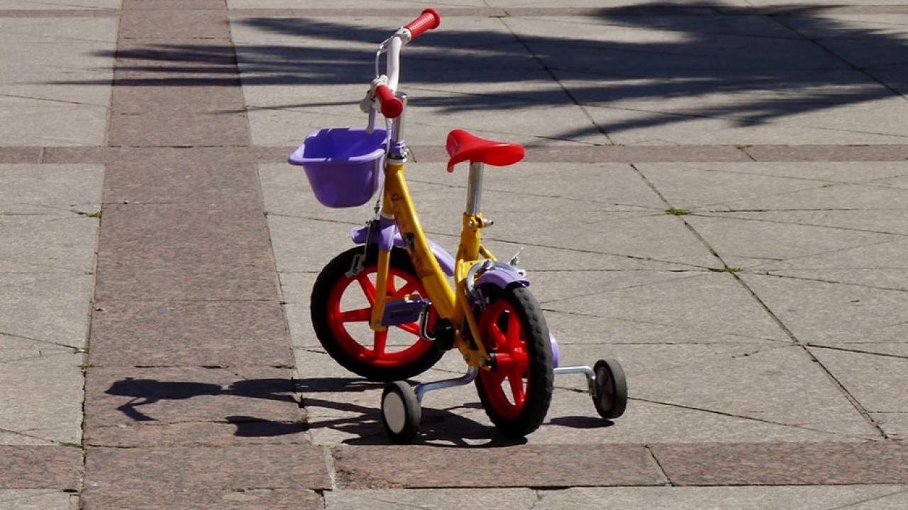 Laufrad versus Stützräder - Kinderrad mit Stützräder