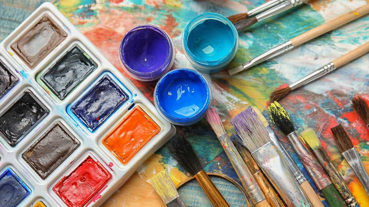 Einstieg in die Hobby-Malerei - Aquarell - Malutensilien