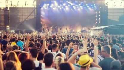 Rock im Park / Menschenmenge beim Festival