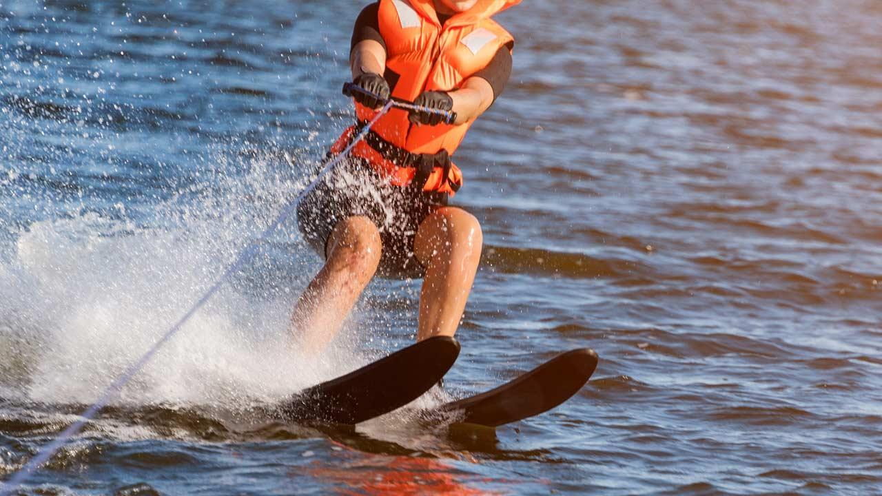 Wasserski & Wakeboard - auf 2 Ski