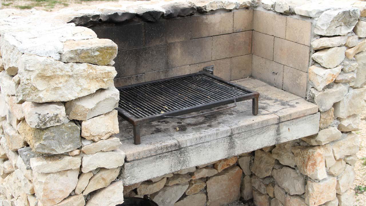 Der optimale Holzkohlegrill / gemauerter Holzkohlegrill