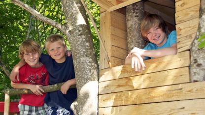Baumhaus - Vom Kindertraum zum Schlafzimmer in den Bäumen