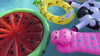 Kinder-Wasserspielzeug für den Garten