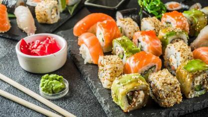 Sushi selbsgemacht - Das optimale Sommergericht / Sushiplatte