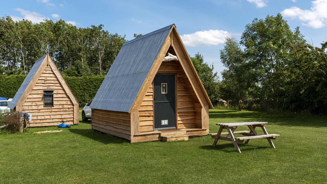 Glamping - Camping mit Komfort / Glamping Hütten