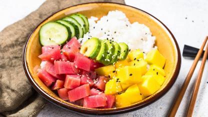 Poke - Fischsalat aus Hawaii