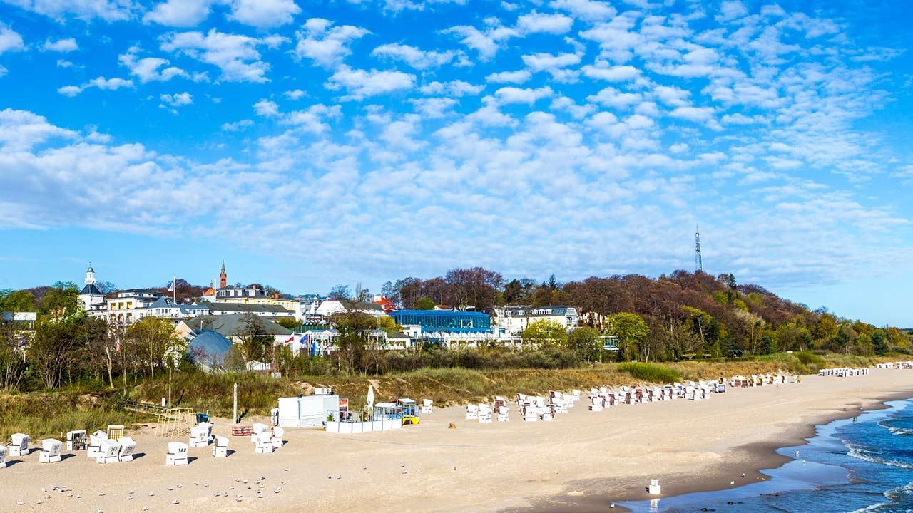 Den Sommer kühl verbringen an der Ostsee / die Sonneninsel Usedom