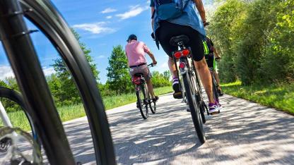 Fahrradtour im Spätsommer von Passau nach Wien