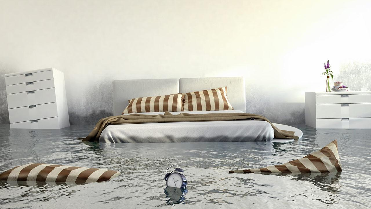Welches Wasserbett ist das richtige für mich? / ein Bett unter Wasser
