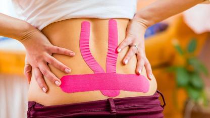Taping - Hilft tapen gegen Rückenschmerzen?