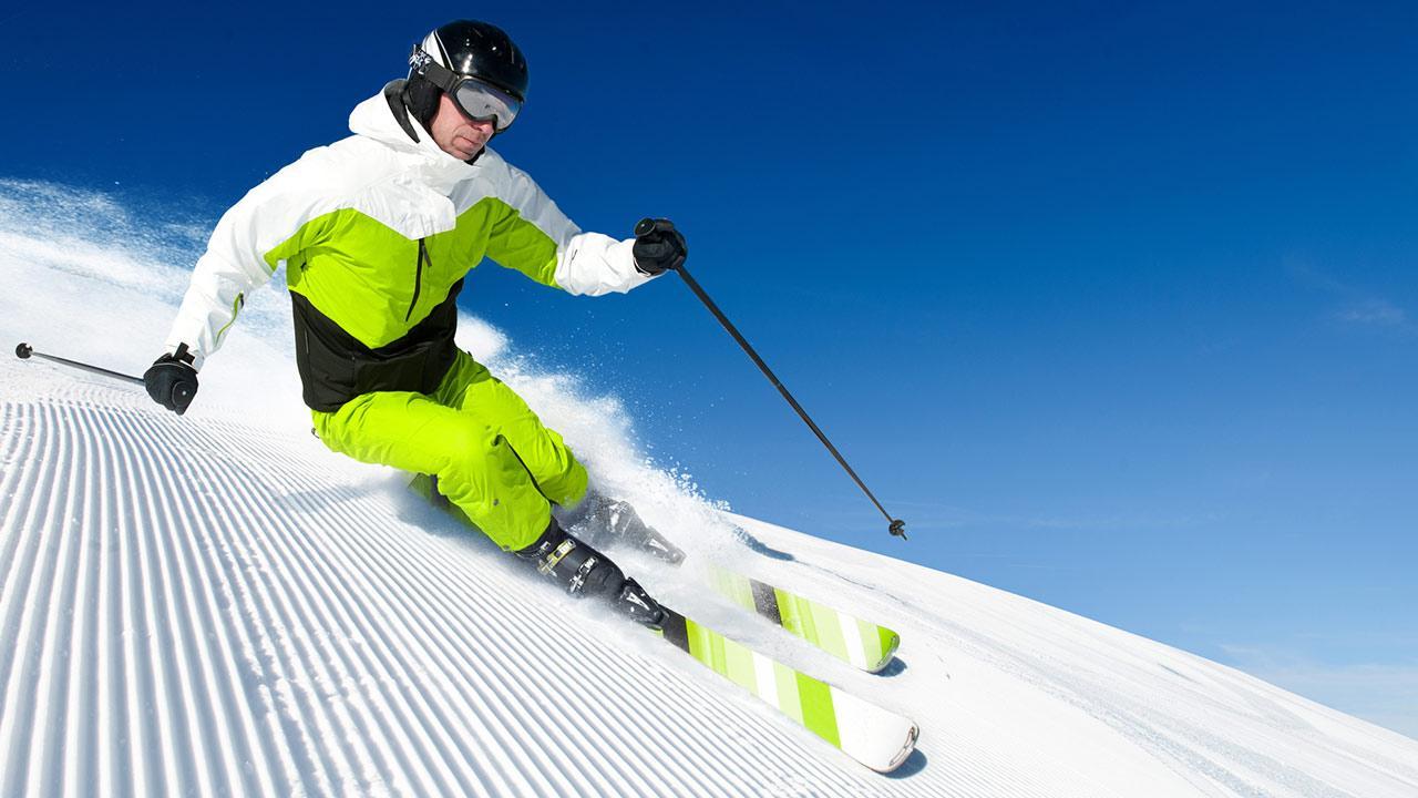 Welcher Ski passt zu mir ? / ein Skifahrer