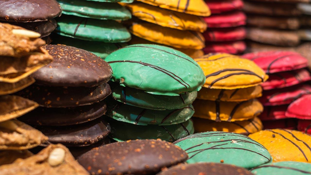 Die besten Rezepte für Elisenlebkuchen / Lebkuchen aus Nürnberg in verschiedenen Farben