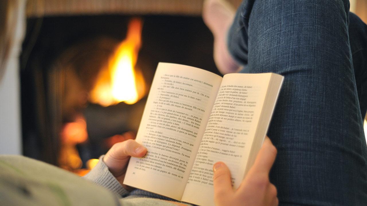 Buchtipp im Dezember: Eine kurze Geschichte der Menschheit / Frau liest ein Buch