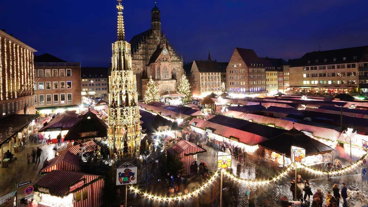 Die schönsten Weihnachtsmärkte / Christkindlesmarkt in Nuremberg