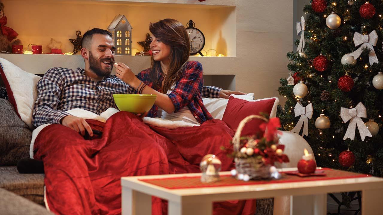 Filmklassiker zu Heiligabend - mit Kuscheldecken