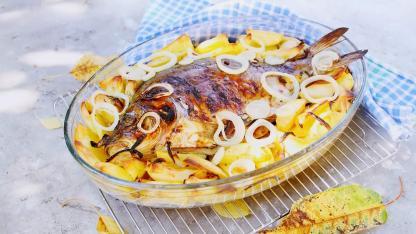Leckere Karpfengerichte  / gebackener Karpfen