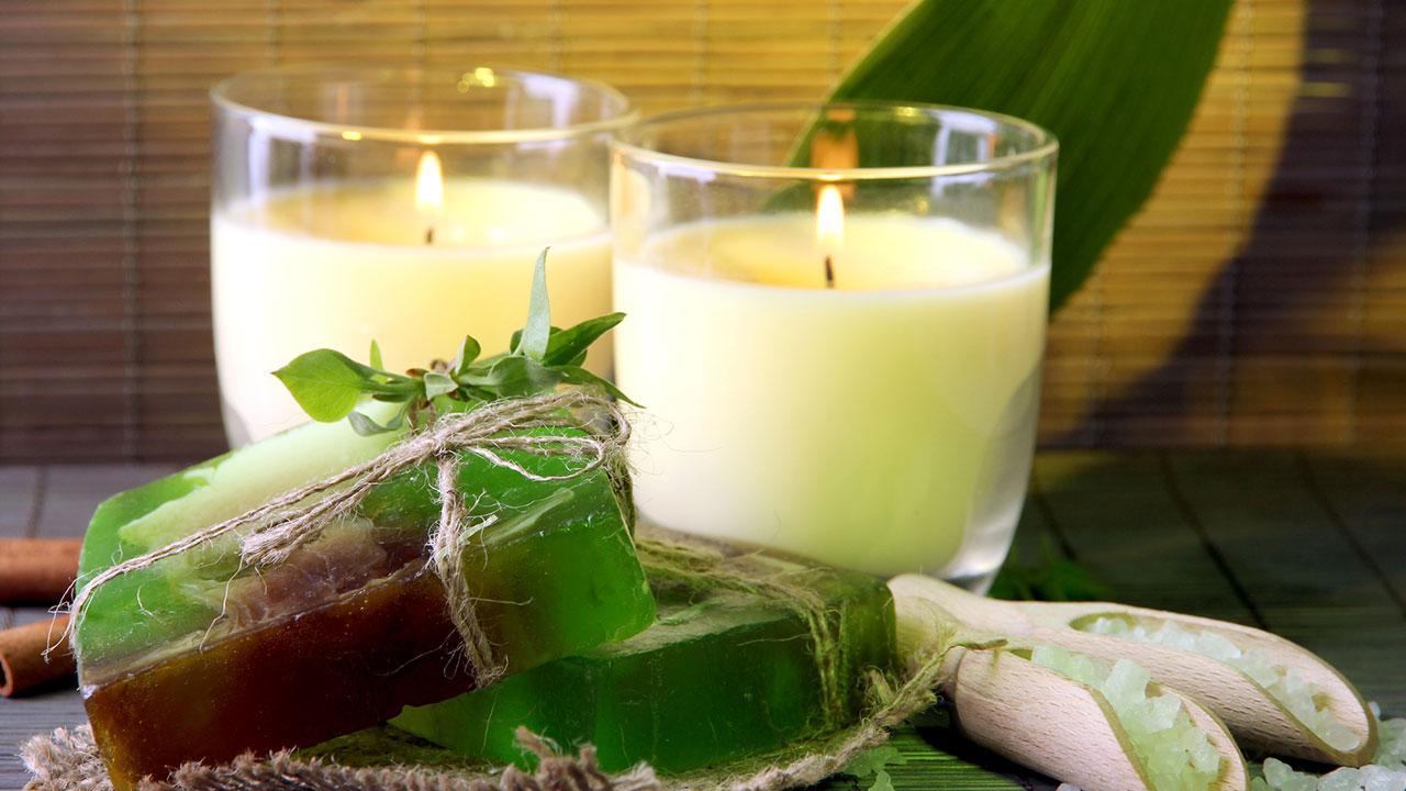 Duftkerzen selber machen / selbstgemachte Kerzen und Seifen