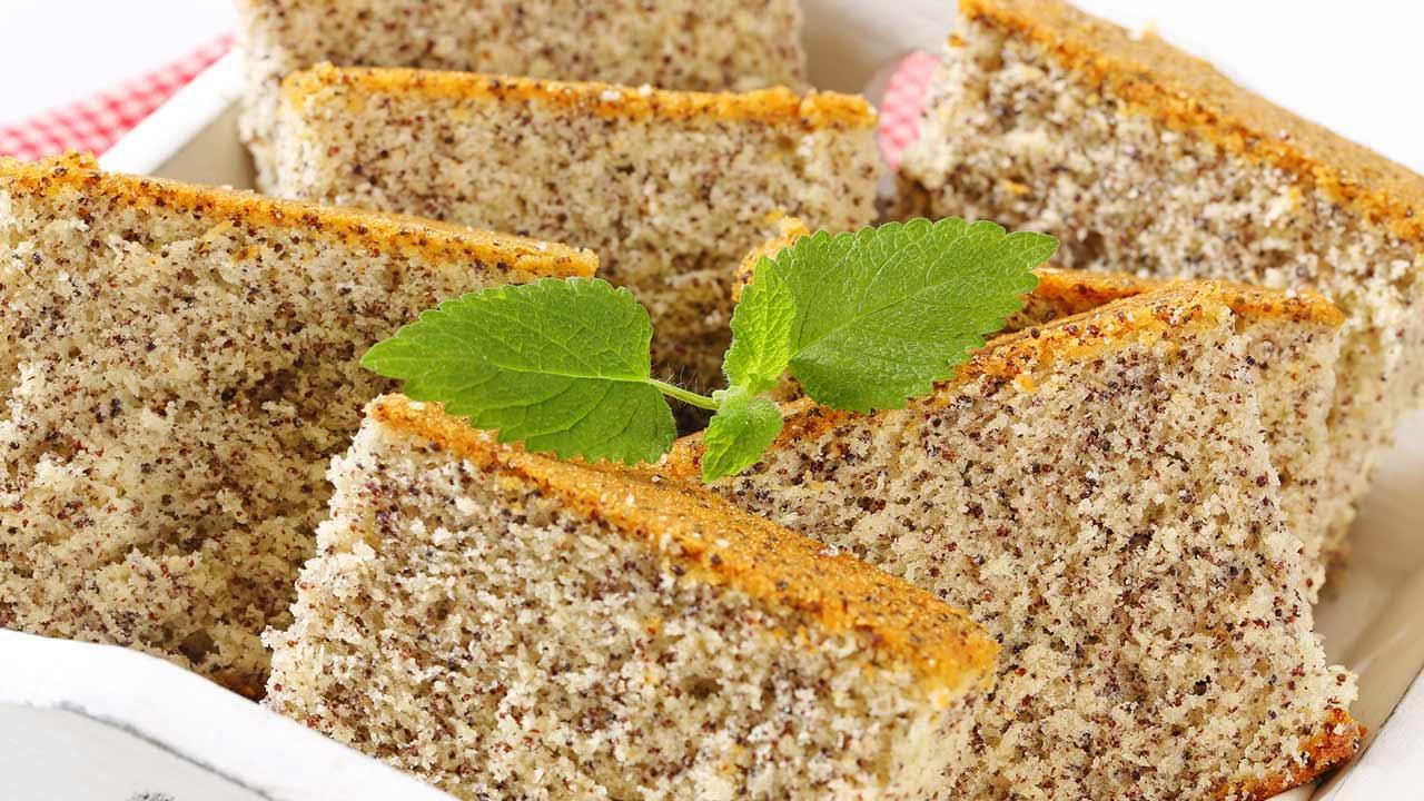 Leckere Mohnkuchenrezepte / selbstgemachter Mohnkuchen