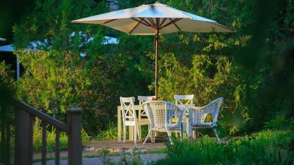 Optimaler Sonnenschutz im Garten - Sonnenschirm