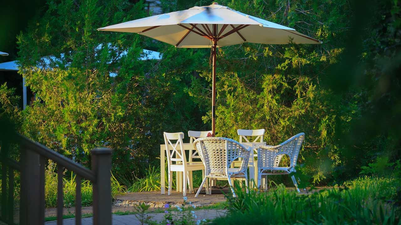 Optimaler sonnenschutz im garten bei freizeit haus und - Sonnenschutz garten ...